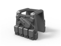 Gray Minifigure Tactical Vest P1