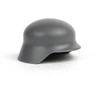 Gray Minifigure German Stahlhelm Helmet