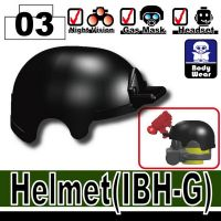 Ibh-G Minifigure Tactical Helmet